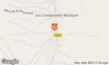 Mappa Les Contamines Montjoie Appartamento 18006