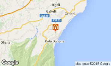 Mappa Cala Gonone Casa 86792