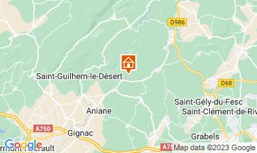 Mappa Montpellier Alloggio insolito 9218
