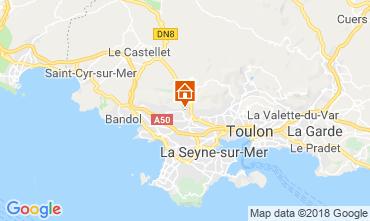 Mappa Ollioules Villa  117415