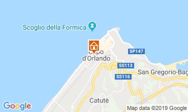 Mappa Capo d'Orlando Appartamento 106132