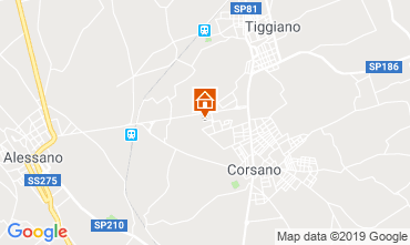 Mappa Santa Maria di Leuca Villa  88856