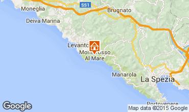 Mappa Monterosso al Mare Appartamento 50061
