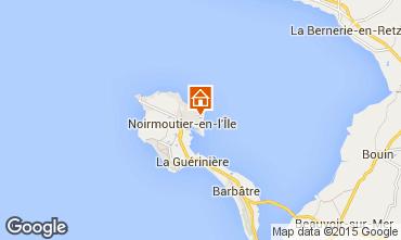 Mappa Noirmoutier en l'Île Villa  93515