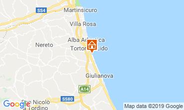 Mappa Tortoreto Appartamento 96795