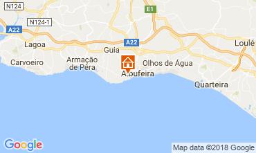 Mappa Albufeira Appartamento 103742