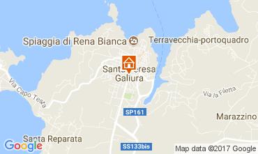 Mappa Santa Teresa di Gallura Monolocale 60775