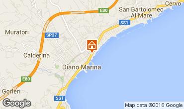 Mappa Diano Marina Appartamento 103029