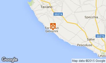 Mappa Ugento - Torre San Giovanni Appartamento 97977