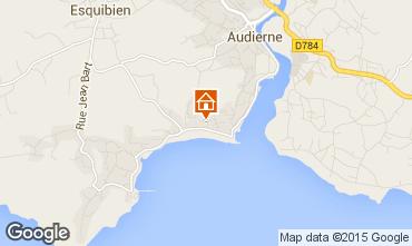 Mappa Audierne Appartamento 9977