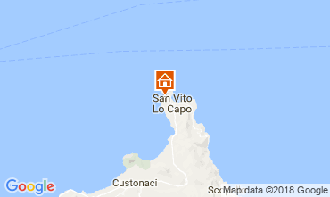 Mappa San Vito lo Capo Villa  113893
