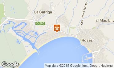 Mappa Rosas Appartamento 94110