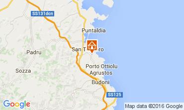 Mappa San Teodoro Appartamento 75983