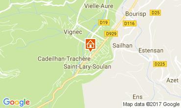 Mappa Saint Lary Soulan Appartamento 110661