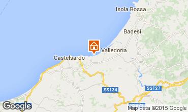 Mappa Valledoria Appartamento 68457