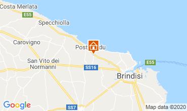 Mappa Brindisi Alloggio insolito 117050