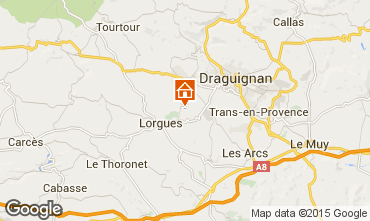 Mappa Lorgues Agriturismo 92968
