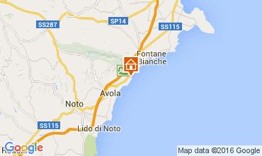 Mappa Avola Villa  93429