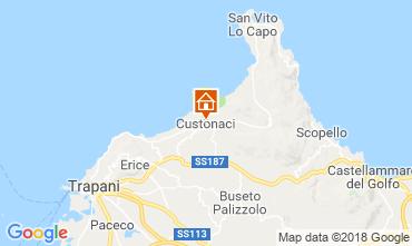 Mappa San Vito lo Capo Appartamento 94100