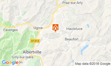Mappa Les Saisies Appartamento 116762