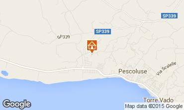 Mappa Pescoluse Villa  72212