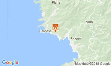 Mappa Cargese Casa 115568