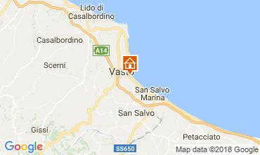 Mappa Vasto Appartamento 46912