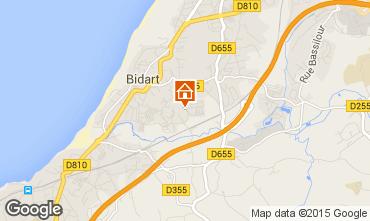Mappa Biarritz Casa mobile 41831