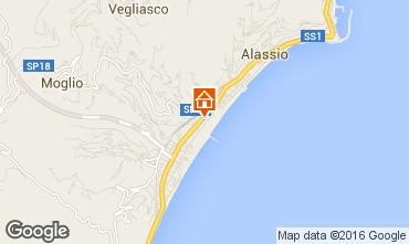 Mappa Alassio Appartamento 79186