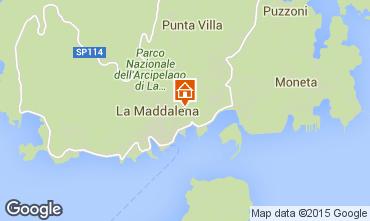 Mappa La Maddalena Monolocale 89150