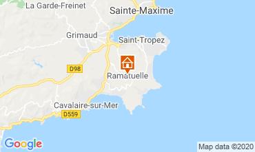 Mappa Saint Tropez Casa mobile 108259