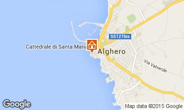 Mappa Alghero Appartamento 46353