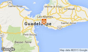Mappa Gosier (Guadalupa) Monolocale 8004