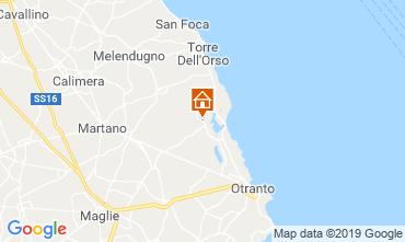 Mappa Otranto Agriturismo 118484