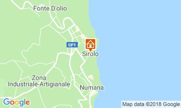 Mappa Sirolo Casa 117119