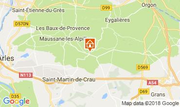 Mappa Les Baux de Provence Agriturismo 113913
