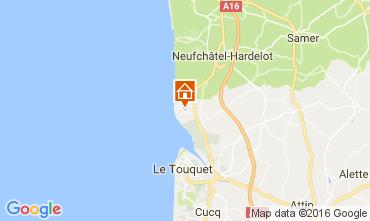 Mappa Le Touquet Casa 80399