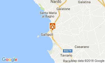 Mappa Gallipoli Appartamento 95183