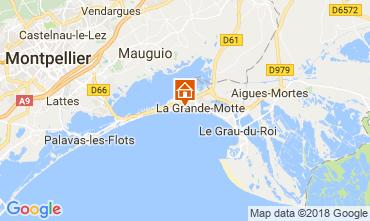 Mappa La Grande Motte Monolocale 116057