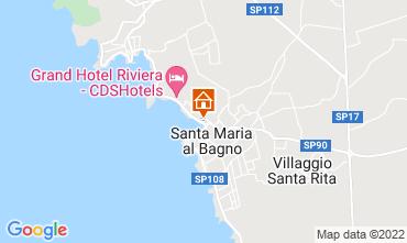 Mappa Santa Maria al Bagno Appartamento 63668
