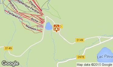 Mappa Besse - Super Besse Chalet 67212