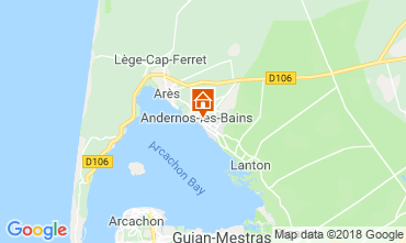 Mappa Andernos les Bains Agriturismo 116644