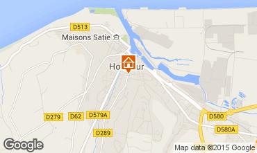 Mappa Honfleur Agriturismo 59120