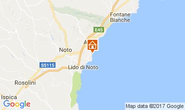 Mappa Avola Villa  108590
