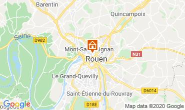 Mappa Rouen Monolocale 118116