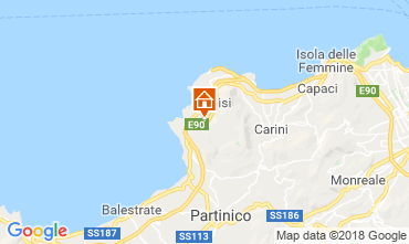 Mappa Terrasini Villa  117072