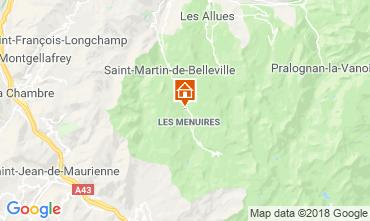 Mappa Les Menuires Chalet 116653