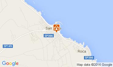 Mappa San Foca Appartamento 94580