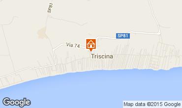 Mappa Triscina Villa  99407