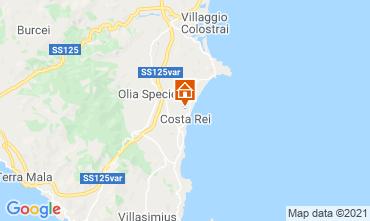 Mappa Costa Rei Villa  119654